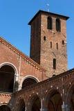 圣徒Ambrogio -米兰意大利大教堂  库存照片