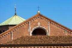 圣徒Ambrogio -米兰意大利大教堂  图库摄影