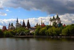 圣徒Basil& x27; s大教堂在莫斯科,俄罗斯 免版税库存图片
