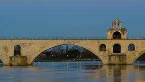 圣徒Benezet桥梁-阿维尼翁 免版税库存图片