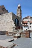 圣徒Domnius大教堂 免版税图库摄影