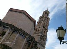 圣徒Domnius Chatedral  免版税图库摄影