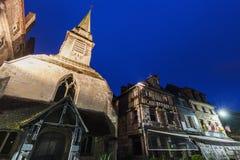 圣徒Etiennei教会在翁夫勒 库存图片