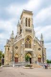 圣徒Eugenie教会在比亚利兹-法国 库存照片