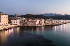 圣徒Florent在可西嘉岛 免版税图库摄影