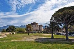 圣徒Florent城堡 免版税图库摄影