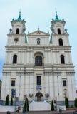 圣徒Fransysk Ksavery教会 库存图片