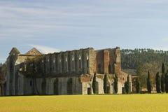 圣徒Galgano修道院  库存图片