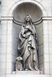 圣徒Genevieve 免版税库存照片