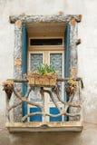 圣徒Guilhem le荒废村庄 库存照片