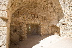 圣徒Honorat被加强的修道院,法国 图库摄影