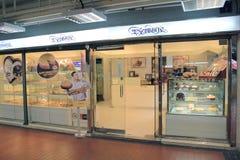 圣徒honore蛋糕商店在香港 库存图片