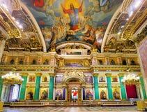 圣徒Isaacs大教堂在圣彼德堡 免版税库存图片