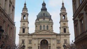 圣徒Istvan布达佩斯大教堂的大厦  库存图片