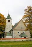 圣徒Jakub教会在Krec,捷克共和国 图库摄影