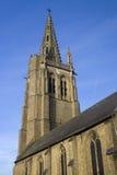 圣徒Leger,索科,北法国教会  图库摄影