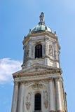 圣徒Melaine教会在雷恩 库存照片