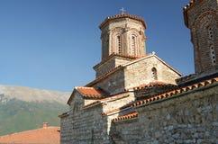 圣徒Naum修道院,马其顿 免版税库存图片