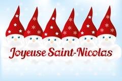 圣徒Nickolas天-例证 免版税库存图片