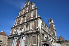 圣徒Omer,法国老阴险的人学院 免版税库存照片