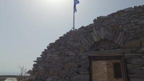 圣徒Panteleimon修道院,主要教会,圣山,希腊 股票录像