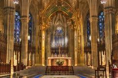圣徒Patricks大教堂 库存图片