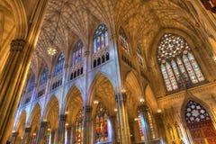 圣徒Patricks大教堂 免版税图库摄影
