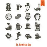 圣徒Patricks天隔绝了象集合 免版税库存照片