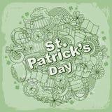 圣徒Patricks日 库存照片