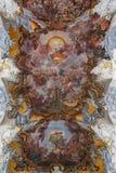 圣徒Paulinus教会的天花板实验者的,德国 库存图片