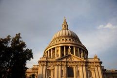 圣徒Pauls大教堂 免版税图库摄影