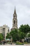 圣徒Perpetue教会 库存图片