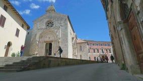 圣徒Quirico和Giulitta,圣奎里科多尔恰牧师会主持的教堂  股票录像