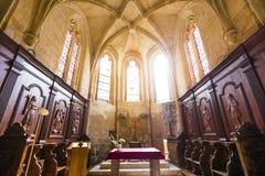 圣徒Sacerdos大教堂, Sarlat,法国 图库摄影