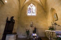 圣徒Sacerdos大教堂, Sarlat,法国 免版税图库摄影