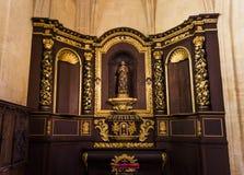 圣徒Sacerdos大教堂, Sarlat,法国 免版税库存照片