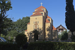 圣徒Sarkis大教堂在爱德乐,索契 库存图片