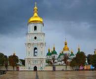 圣徒Sophias大教堂,基辅乌克兰 库存图片