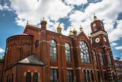 圣徒Stanislaus Kostka教会-匹兹堡, PA 免版税图库摄影