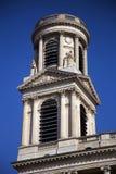圣徒Sulpice教会 库存照片