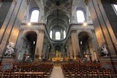 圣徒Sulpice,巴黎 免版税库存图片