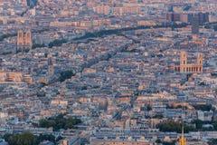 圣徒Sulpice Notre Dame教会巴黎 图库摄影