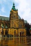 圣徒Vitus大城市大教堂  图库摄影