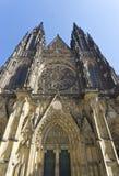 圣徒Vitus大教堂 库存照片