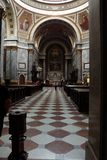 圣徒Wojciech大教堂在埃斯泰尔戈姆在匈牙利 免版税库存图片