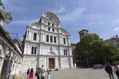 圣徒Zaccaria教会在威尼斯 免版税库存图片