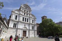 圣徒Zaccaria教会,威尼斯,意大利 免版税库存照片