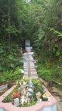 圣所在Cayey,波多黎各山 免版税库存照片