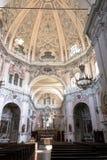 圣所的内部在凯拉斯科,意大利 库存照片