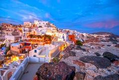 圣托里尼希腊 免版税图库摄影